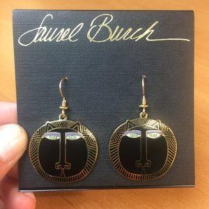 NWT Laurel Burch Cat Dangle Earrings